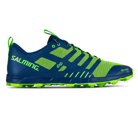 Salming OT Comp Running Shoe Men Poseidon Blue / Safety Yellow