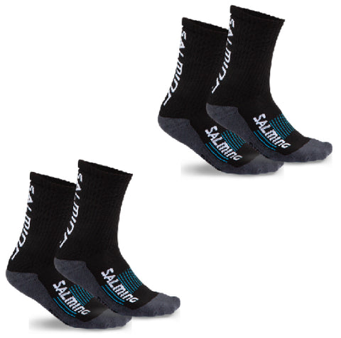 Salming Advanced Indoor Sock Black Two Pack