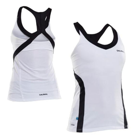 Salming Strike Tank White Black