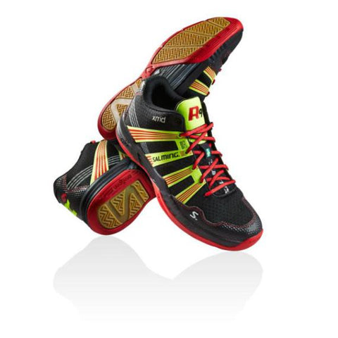 Salming R9 Shoes Men Black Red
