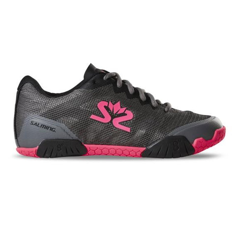 Salming Hawk Shoes Women Grey Pink