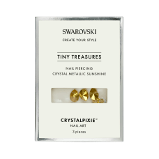 SWAROVSKI TINY TREASURES NAIL PIERCING Crystal METALLIC SUNSHINE