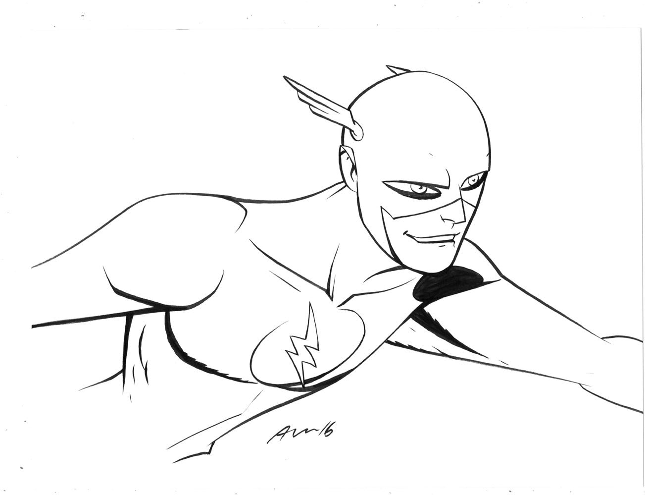 Daily Sketch The FLash!
