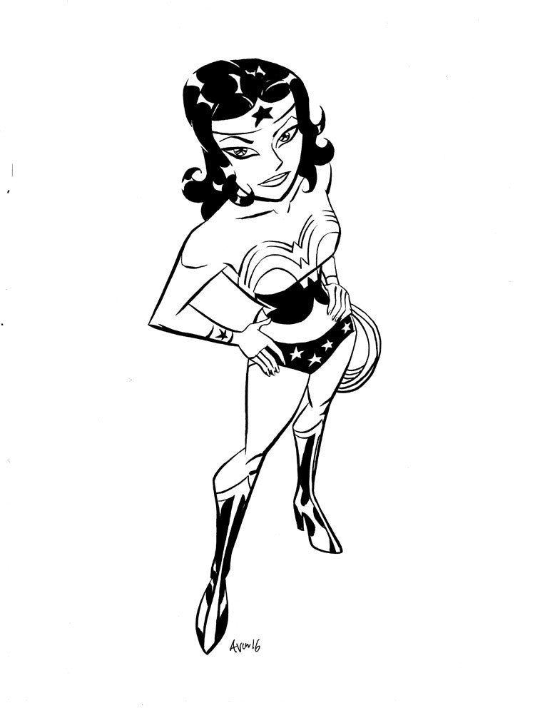 Wonder Woman Daily sketch