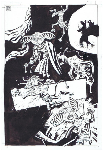 Mice Templar v. 3 Interior Splash Page