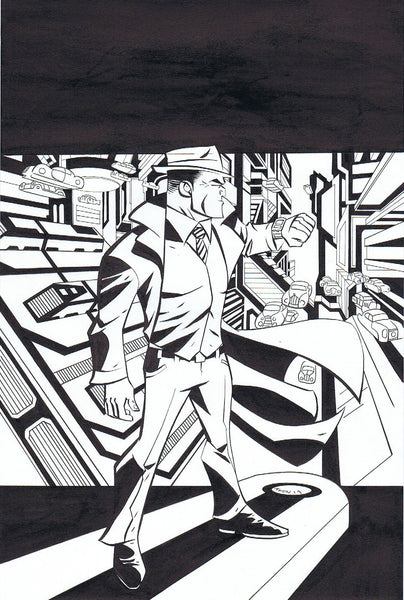 DICK TRACY: FOREVER #4 - COVER ART