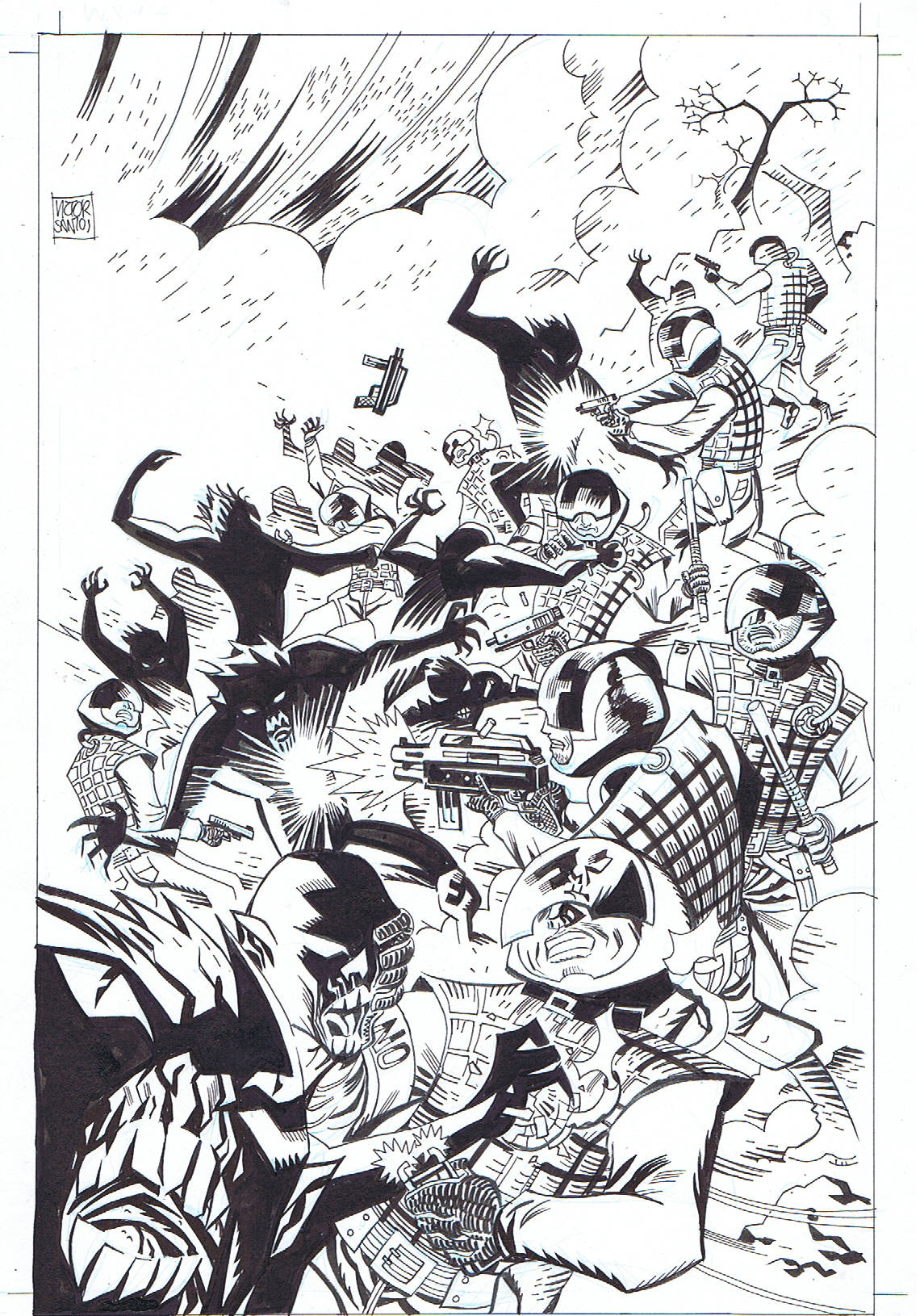 JAMES PATTERSON'S WITCH & WIZARD #4 SPLASH PAGE