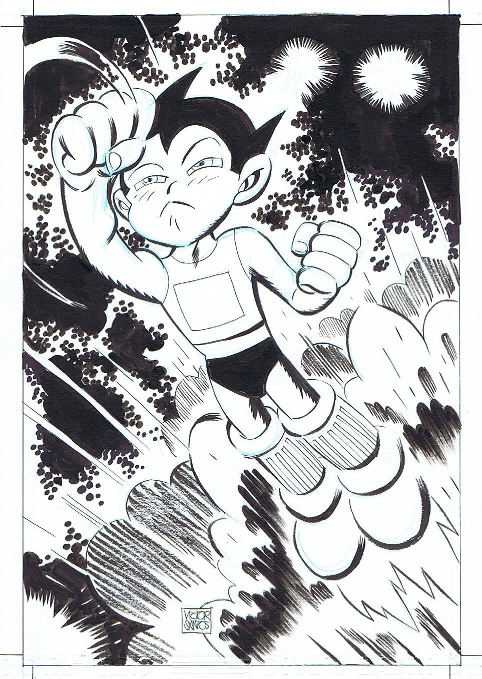 ASTRO BOY PIN-UP