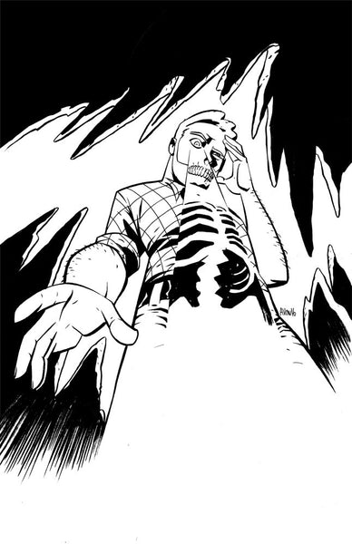 Cave Carson pin up