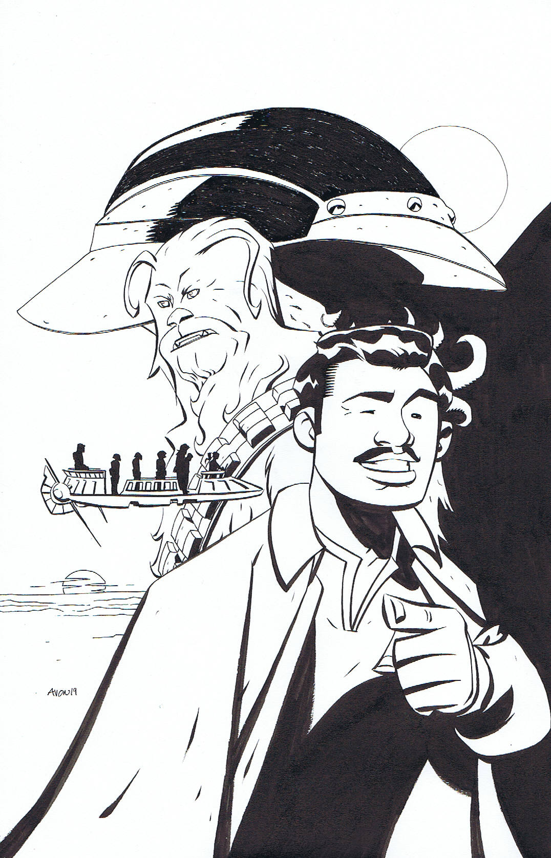 STAR WARS ADVENTURES #23 COVER ART