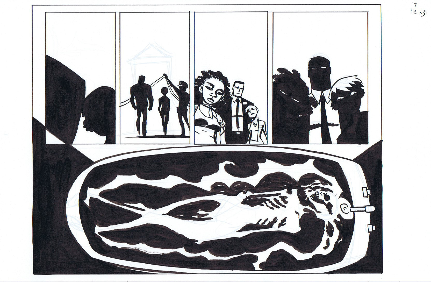 Powers Bureau #7 Pages 12-13 Double Page