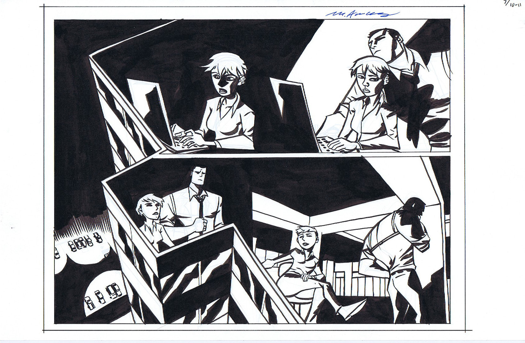 Powers Bureau #7 Pages 10-11 Double Page