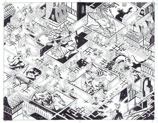 Mice Templar v. 3 #3 Interior Double Page Splash