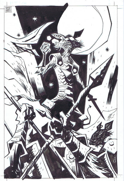 Mice Templar v. 3 #4 Interior Splash Page 1