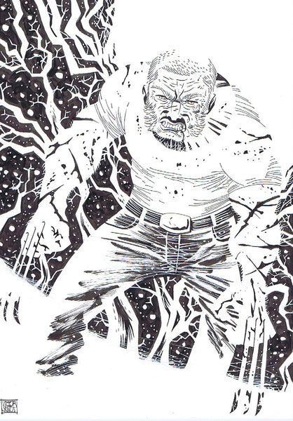 Old Man Logan Pin-Up