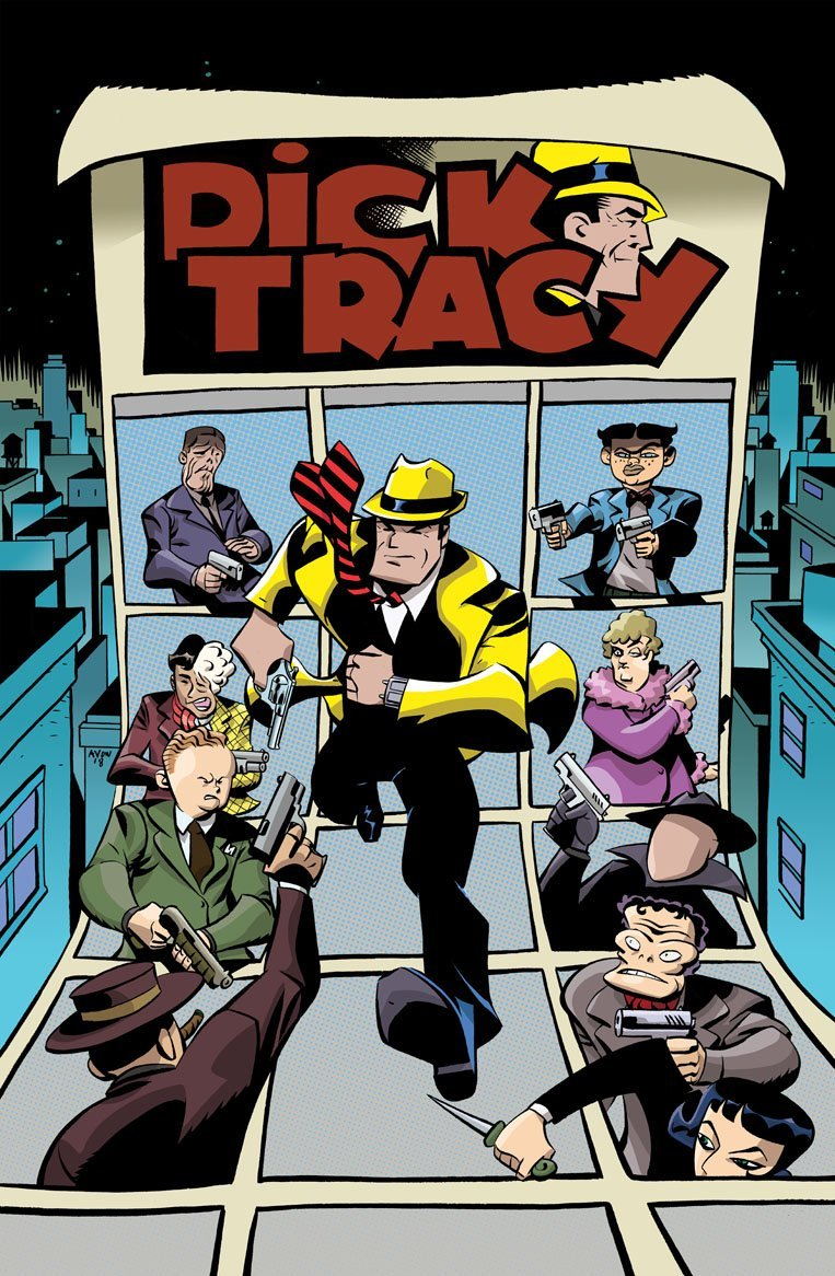 DICK TRACY - DEAD OR ALIVE #1 - ALT COVER