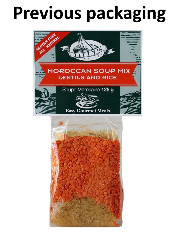 Moroccan Lentil & Rice Soup Mix