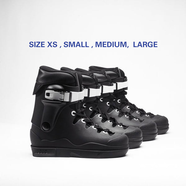 THEM SKATES EDITION 2 BLACK PRE-ORDER SIZE XS, LARGE (FREE SET OF WHEELS)