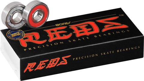 """BONES REDS BEARINGS 16 PACK"""