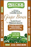 Mulch Ginger Brown