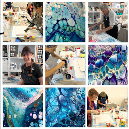 Fluid Acrylic Workshops