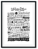 The way of Love | Foil Print