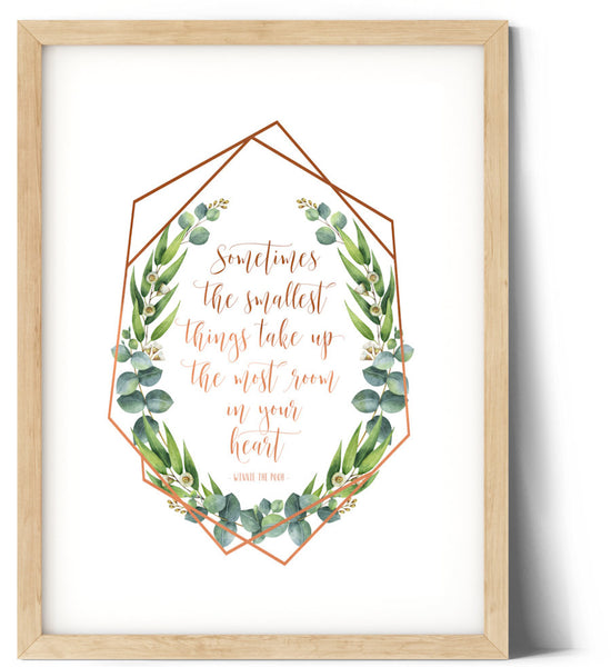 Eucaluptus Wreath Print - The smallest Things