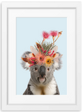 Native Florals & Koala
