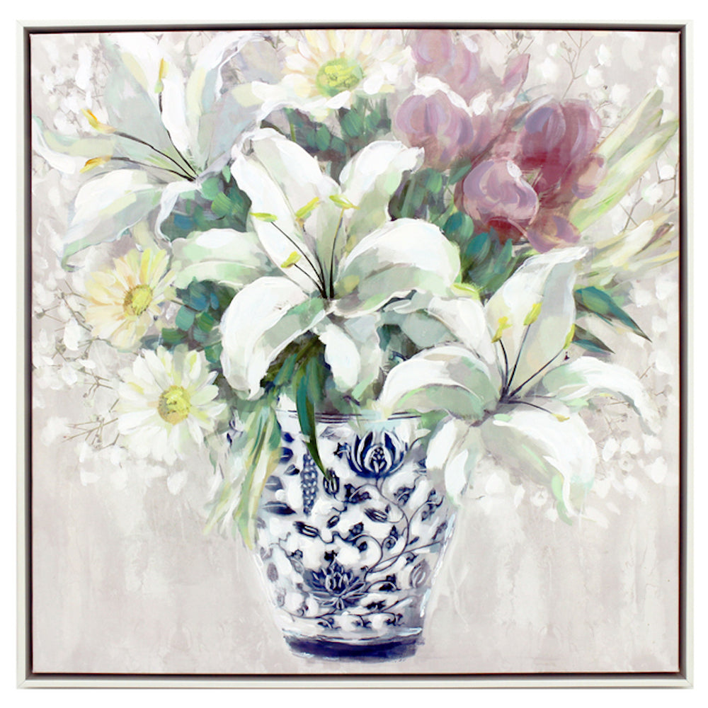 Mame Bouquet Painting
