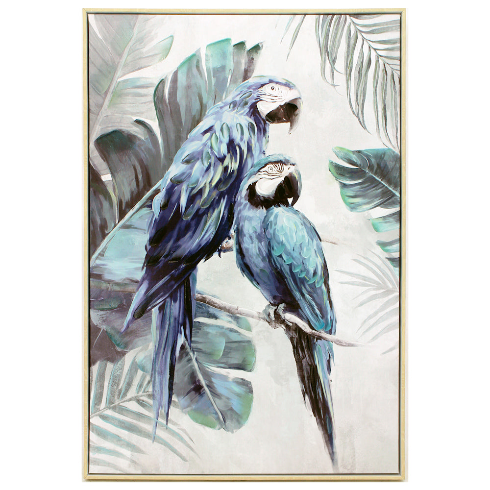 Blue Macaw Duo