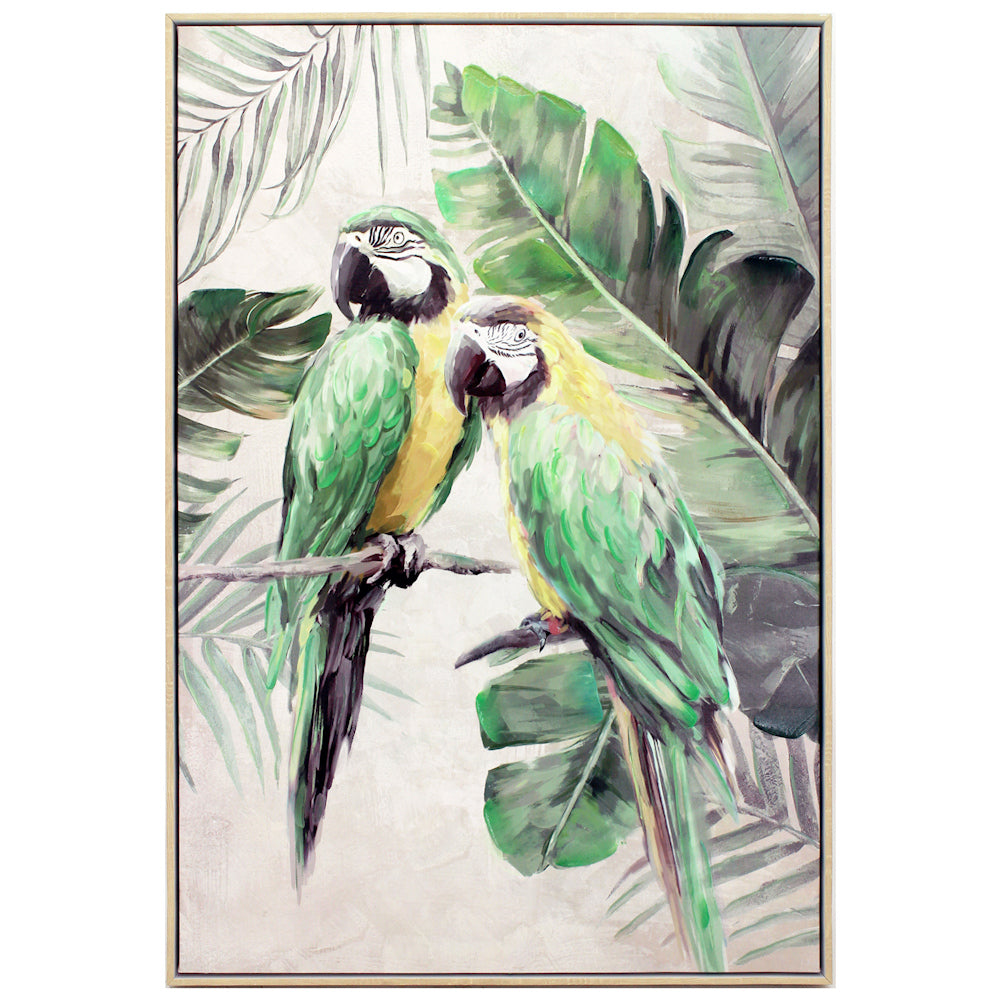 Green Macaw Duo