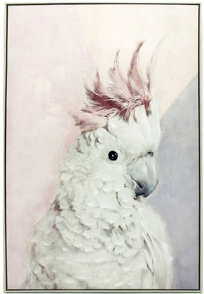 Pink Cockatoo Painting