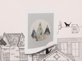Little Design Haus - Geo Mountains