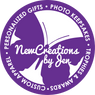 New Creations By Jen Logo in purple