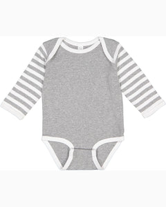 Infant Long-Sleeve Baby Rib Bodysuit