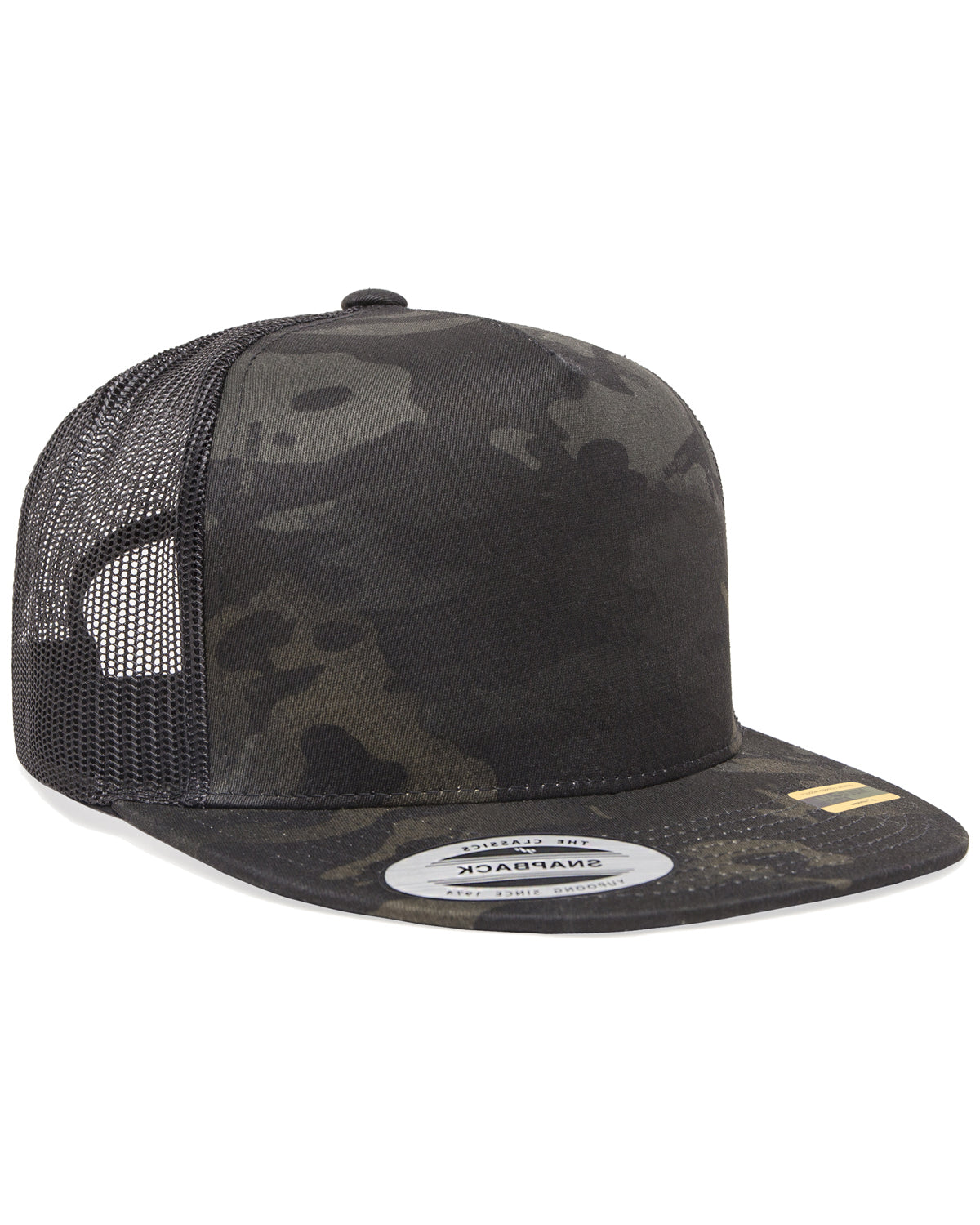 Yupoong Classics™ Adult 5-Panel Multicam® Trucker Cap 6006MC