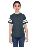 Load image into Gallery viewer, Youth Football Fine Jersey T-Shirt LAT 6137