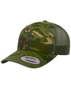 Yupoong Retro Trucker Multicam Snapback 6606MC