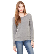 Load image into Gallery viewer, Women's Sponge Fleece Wide Neck Sweatshirt - Bella Canvas 7501