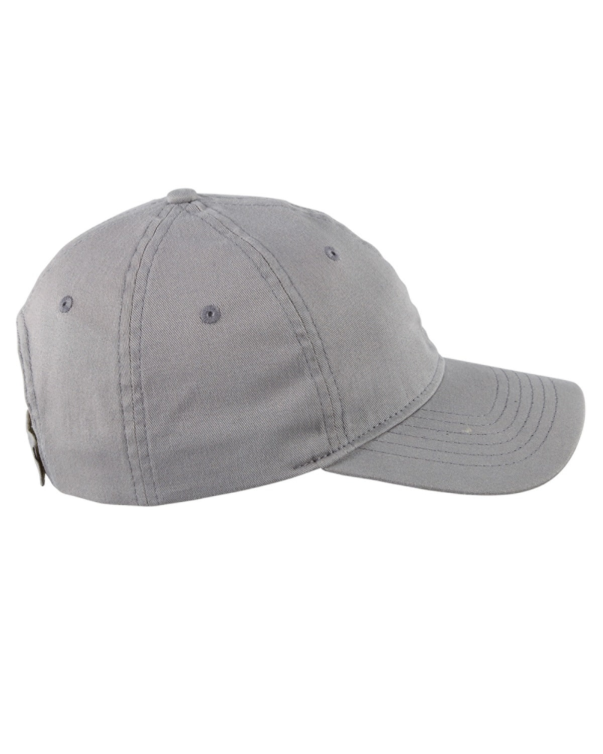 Basic Unstructured Hat (6-Panel Twill Cap Velcro closure) BX880