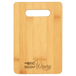 Load image into Gallery viewer, Personal Sized Bamboo Charcuterie (Cheese) Board - CUSTOM