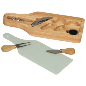 "Wine and Cheese 6-Piece Set 13 1/2"" x 5 1/2"""