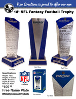 Load image into Gallery viewer, Officially Licensed NFL Fantasy Football Trophy - PRESALE