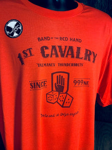 WWN Souvenir Tees - Band of the Red Hand