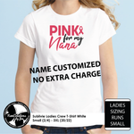 Load image into Gallery viewer, Pink for Nana - Name customized no extra charge