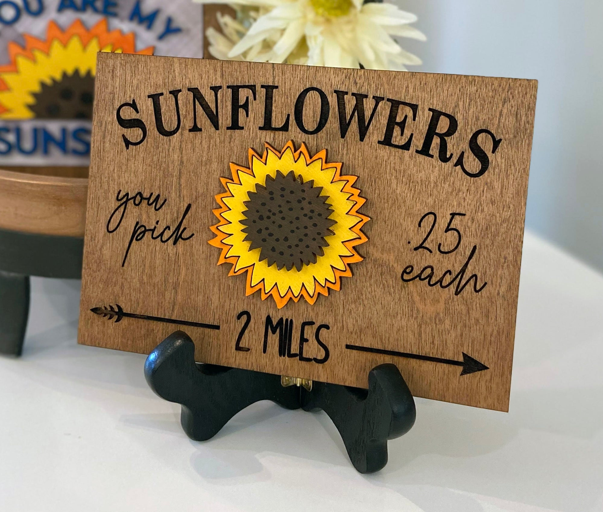 Sunflowers Tiered Tray Bundle