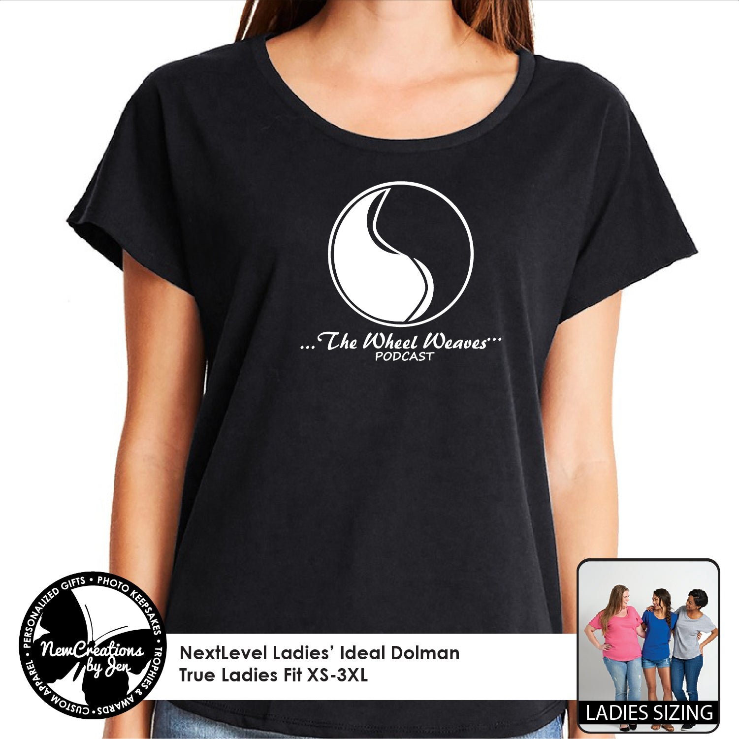 TWW - NextLevel Ladies' Dolman T-Shirt