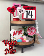 Load image into Gallery viewer, Valentine Tiered Tray Bundle