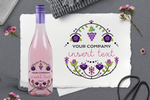 Load image into Gallery viewer, Wine Bottle Label - Full Color personalization