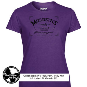 WWN Women's Souvenir Tees - Mordeth's Treasures and Trinkets